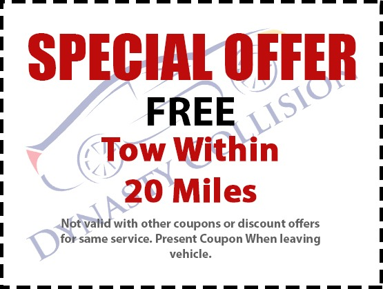 free tow offer